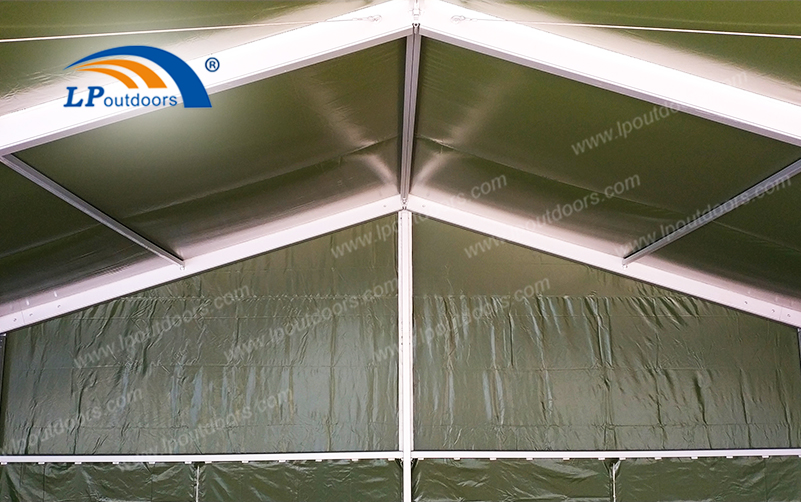 The New Aluminum Alloy Army Tent is Tailored for Outdoor Military Training Activities Application