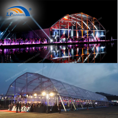 40m span aluminum big event tent for outdoors music concert celebration party