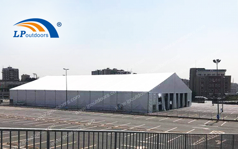 LP Outdoors provide certificate for new temporary structure warehouse tent