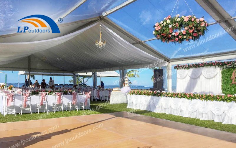 Holy & Pure Theme Outdoors Party Luxury Wedding Tent